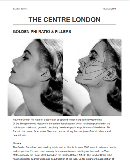 the Phi Golden Ratio cover article