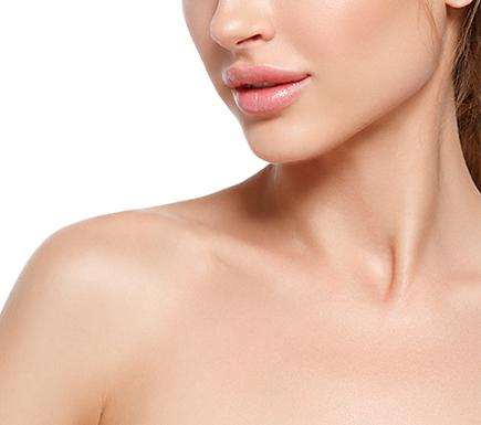 girl with beautiful lips