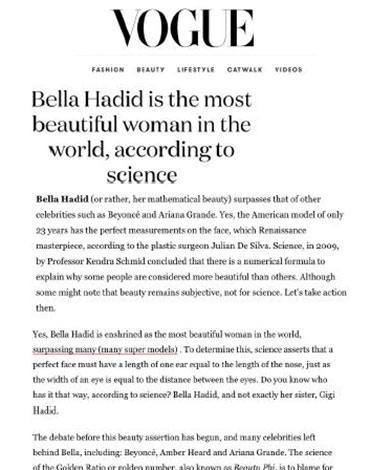 Vogue Mexico article