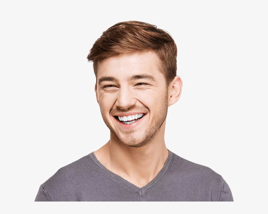 young guy smiling