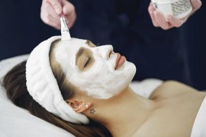 Chemical peels give you new, younger-looking skin.